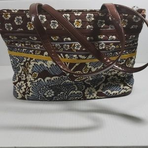 Vera Bradley Quilted Tote Bag Purse